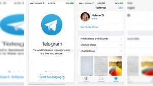 Telegram spyware