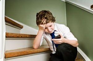 kid is bullied
