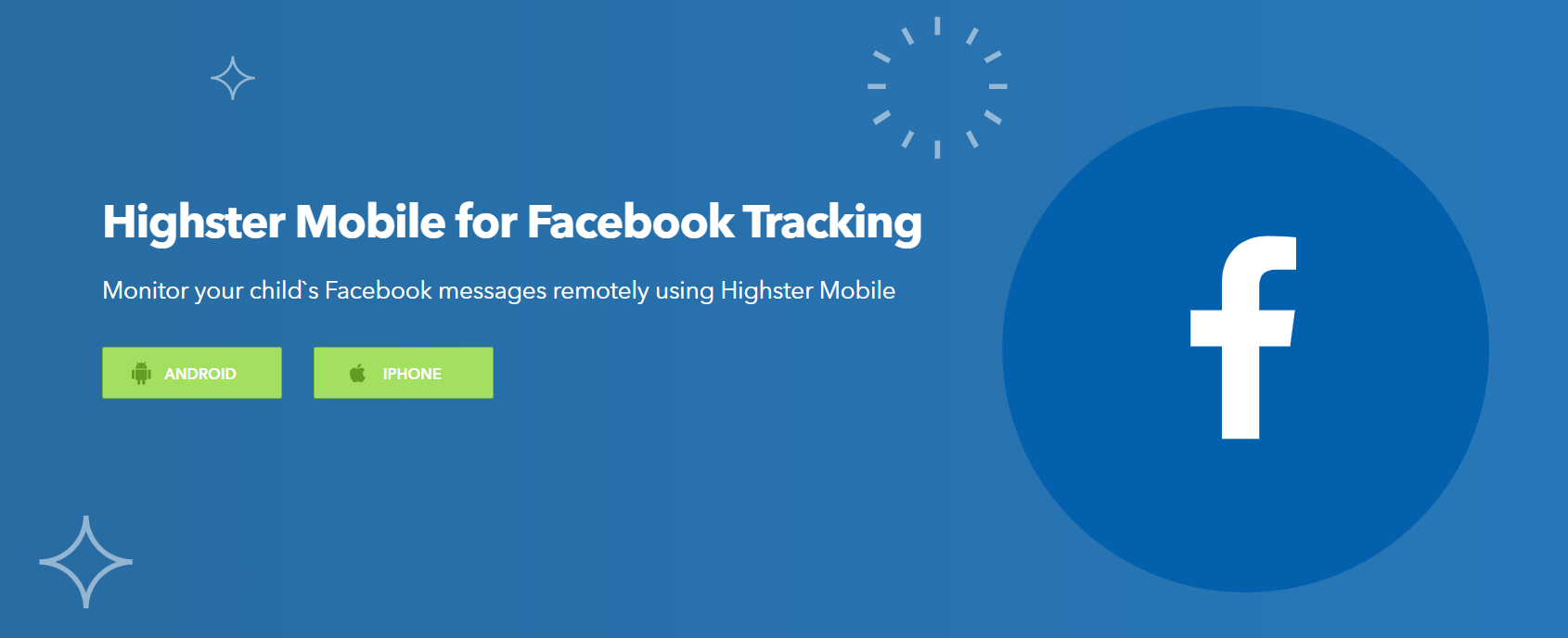 Facebook tracking by Highster Mobile