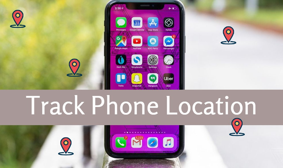 Track phone location with a mobile tracker app