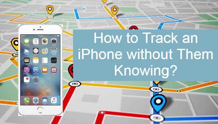Map with iPhone so you could track it